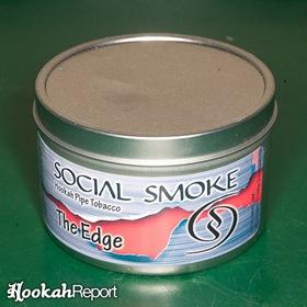 Social Smoke The Edge tin container