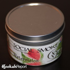 Social Smoke Watermelon Flavor tobacco packaging