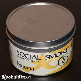 Social Smoke Banana Flavor Tobacco Packaging