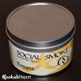 Social Smoke Banana Flavor Tobacco Packaging