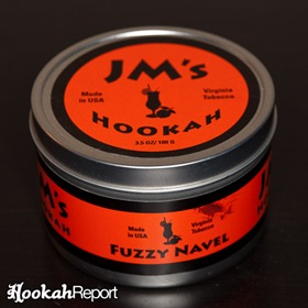 JM's Hookah Tobacco Fuzzy Navel Packaging