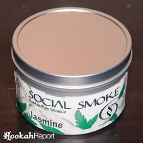 Social Smoke Jasmine Packaging
