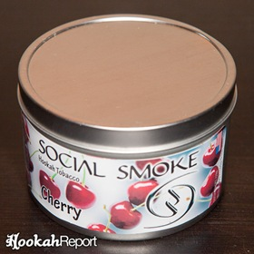 Social Smoke Cherry Packaging