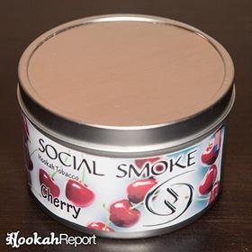 Social Smoke Cherry Packaging