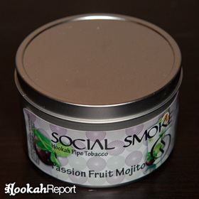 Social Smoke Passion Fruit Mojito Packaging